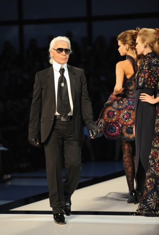 Karl Lagerfeld Says He's Not Retiring and That He Will Die in His Boots