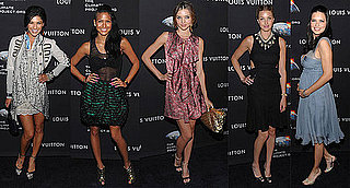 Jessica Szohr, Miranda Kerr, and Whitney Port Attend Louis Vuitton Party in NYC