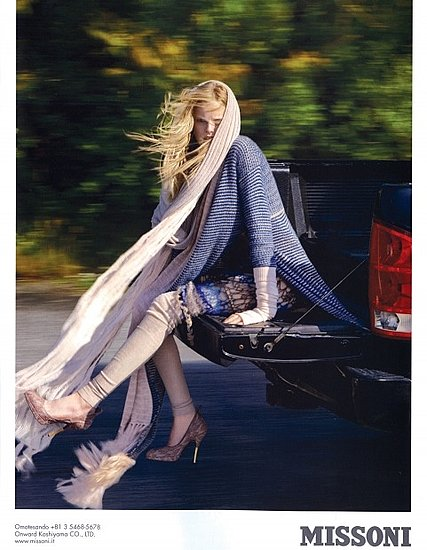 Photo of Missoni 2009 Fall Ad Campaign