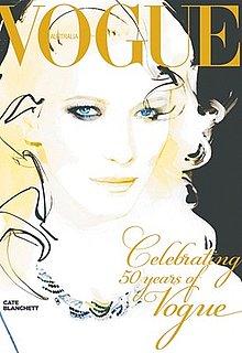 Cate Blanchett Serves as Cover Girl For Vogue Australia's September 2009 Issue