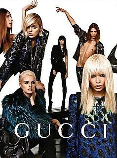 Anja Rubik Stars in Gucci's Fall 2009 Ad Campaign