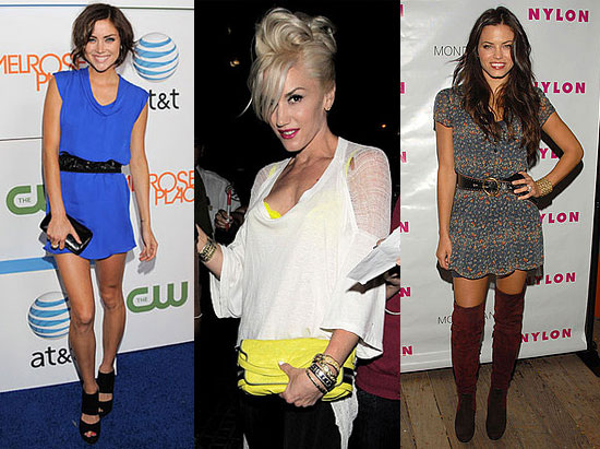 Photo of Jessica Stroup, Gwen Stefani, and Jenna Dewan