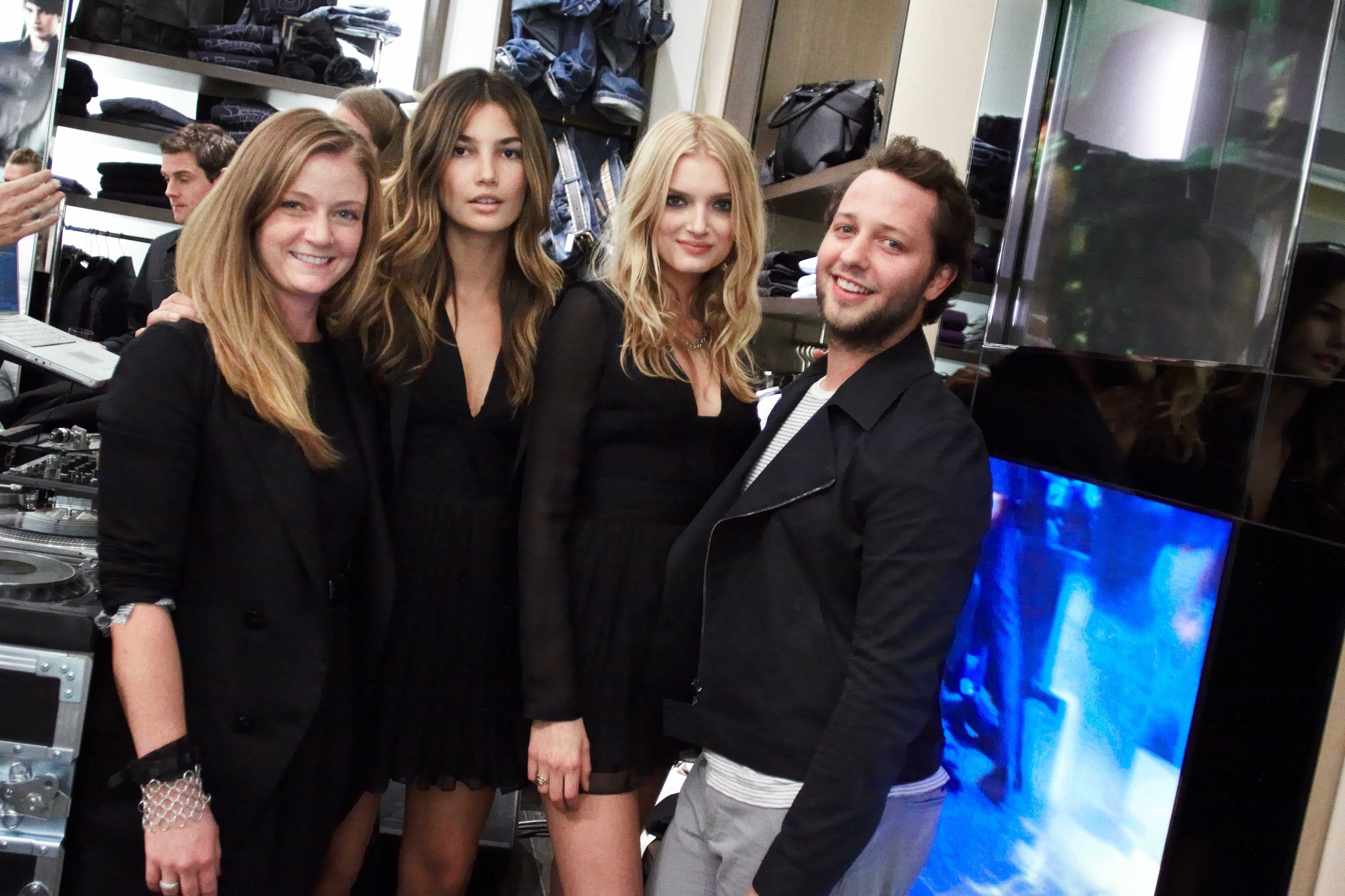 Models, friends, Derek Blasberg