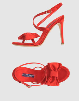 Fab Finger Discount: Ralph Lauren Red Bow Sandals