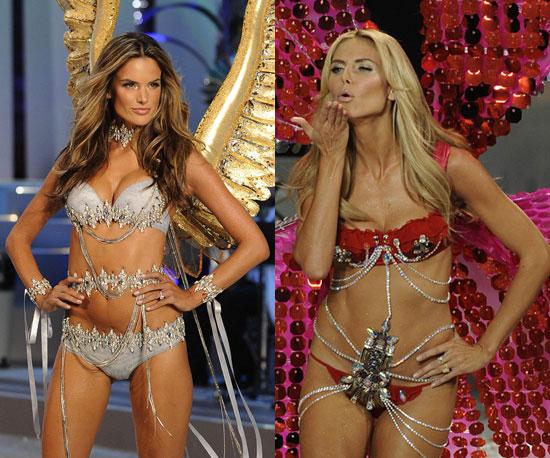 Photos of Pregnant Victoria's Secret Models