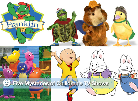 Five Mysteries of Children's TV Shows, Where are Max and Ruby's Parents