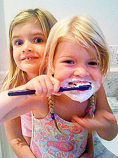 Lil Links: Sam and Lola Sheen Share Sisterly Fun on Twitpic