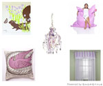 Purple Themed Baby Rooms