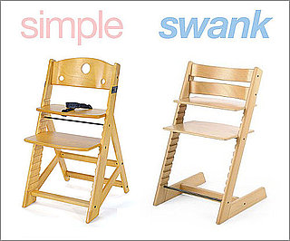 Inexpensive Wooden High Chairs