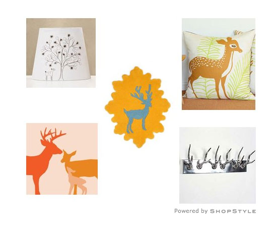 D Is For Decking Out With Doe 'n' Deer