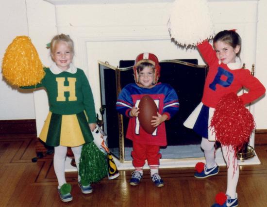 Cheerleader Halloween Costume