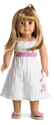 Homeless American Girl Doll