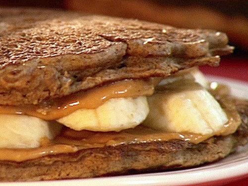 Elvis Pancake Sandwiches: Breakfast and Lunch! | POPSUGAR Moms
