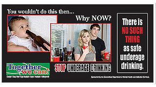 Lil Links: Boozing Baby Billboard Draws Attention