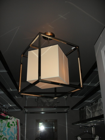 Do You Have Fancy Lighting in Your Closet?