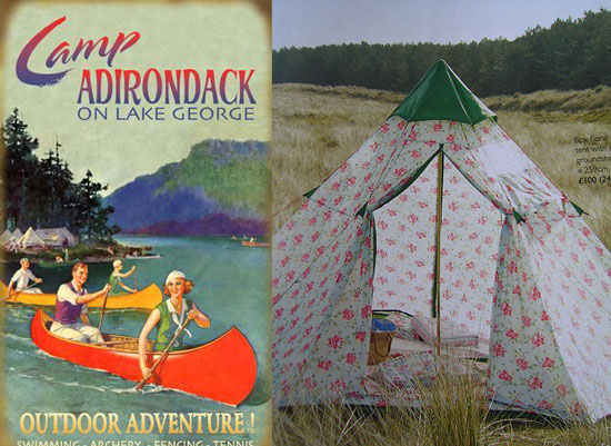 Inspired: Let's Go Camping (With Style)