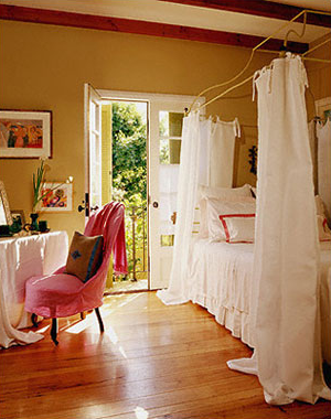 Do You Have a Curtained Bed?