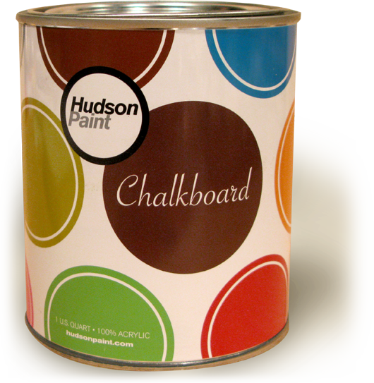 Nice and New: Hudson Colored Chalkboard Paint