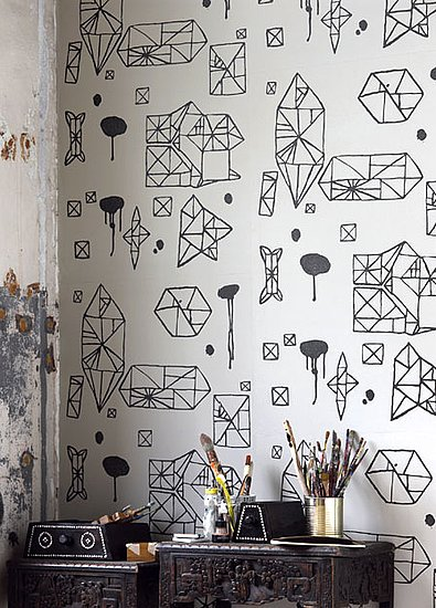 The 10 Coolest Black and White Geometric Wallpapers