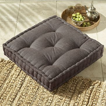 Use the Square Tufted Jute Floor Cushion ($49.99) for extra guests. Get the Look: The Break-Up ...