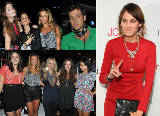 Photos From Charlotte Ronson's Party In NYC Including Mark Ronson, Alexa Chung, Samantha Ronson, Sophia Bush, Mischa Barton