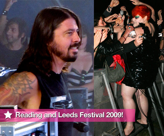 Photos From Reading and Leeds Festival 2009 Including Dave Grohl, Alexa Chung, Alex Turner, Beth Ditto, Pete Wentz and more