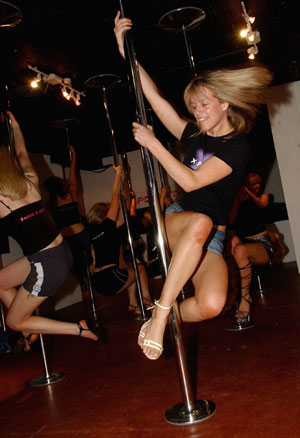 Collette Kakuk Wants to Make Pole Dancing an Olympic Sport