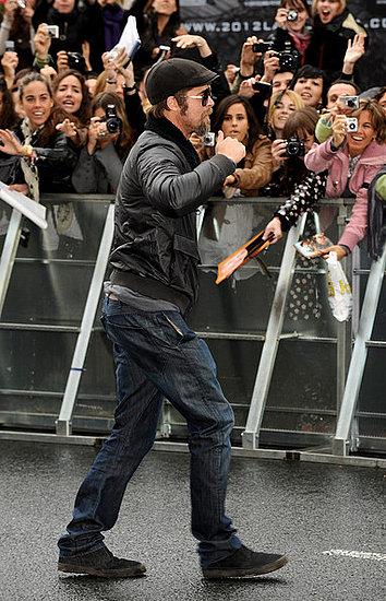 Brad Pitt at the 57th San Sebastian Film Festival