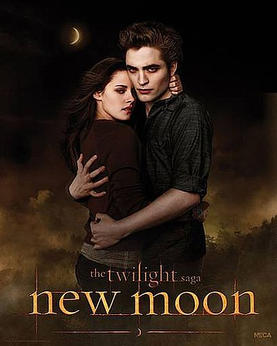 New Moon poster: Bloody beautiful