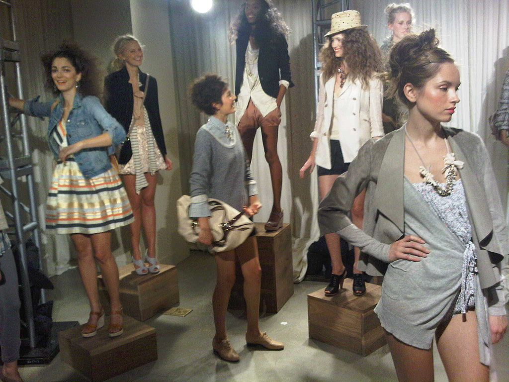 J.Crew Mixes Military with Sparkle for Spring 2010