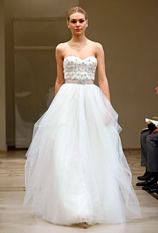 Reem Acra Bridal Fall 2010