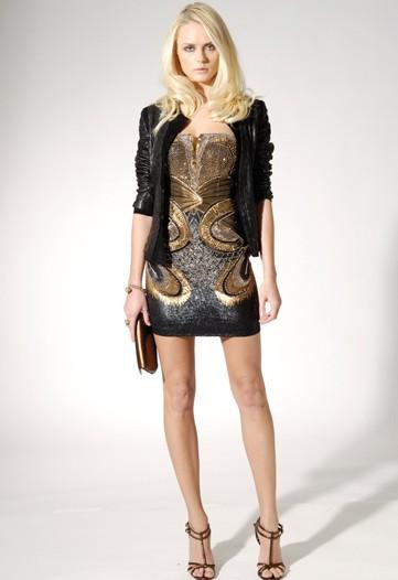 Roberto Cavalli Glitters and Shines in Pre-Fall 2010 Collection