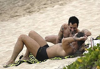 Marc Jacobs, Lorenzo Martone Enjoy a St. Barts Beach on Christmas Eve