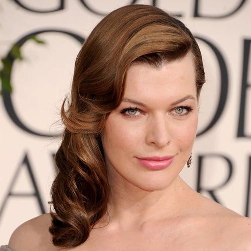 Milla Jovovich Golden Globes 2011