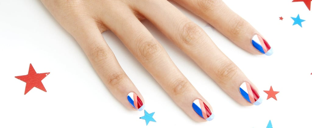 This Edgy Fourth of July Manicure Shows Off Your Patriotism in a Chic Way