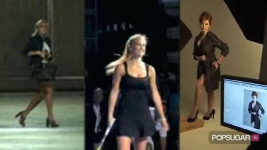 Video of Lindsay Lohan Out of Rehab, Video of Bar Refaeli Playing Tennis, and Video of Christina Hendricks For London Fog 2010-08-26 14:10:19
