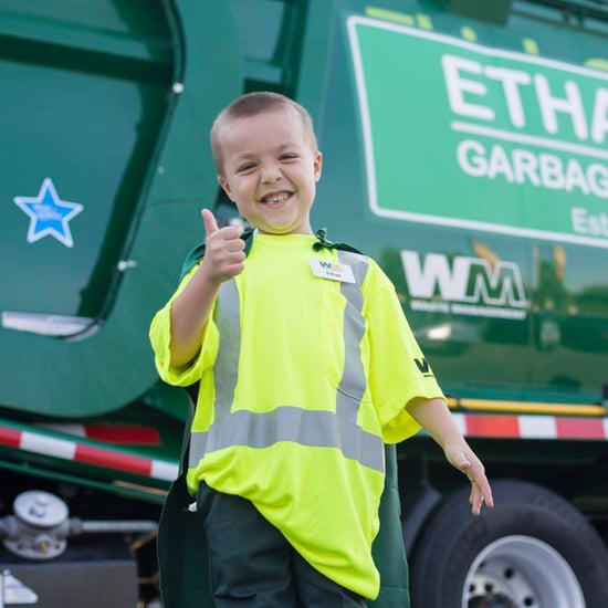 Make-a-Wish Foundation Helps Sick Boy Be a Garbage Man