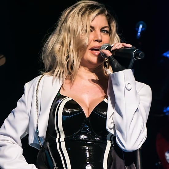 Fergie Performing at Creative Coalition's Benefit Gala 2016