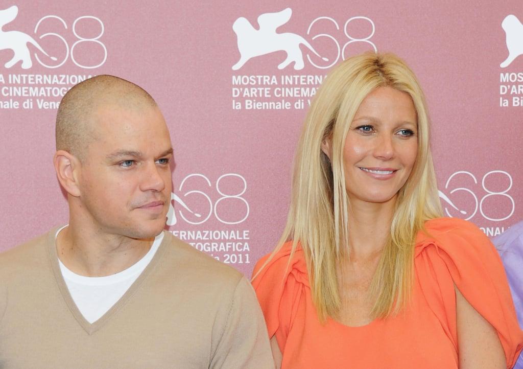 Gwyneth Paltrow and Matt Damon.