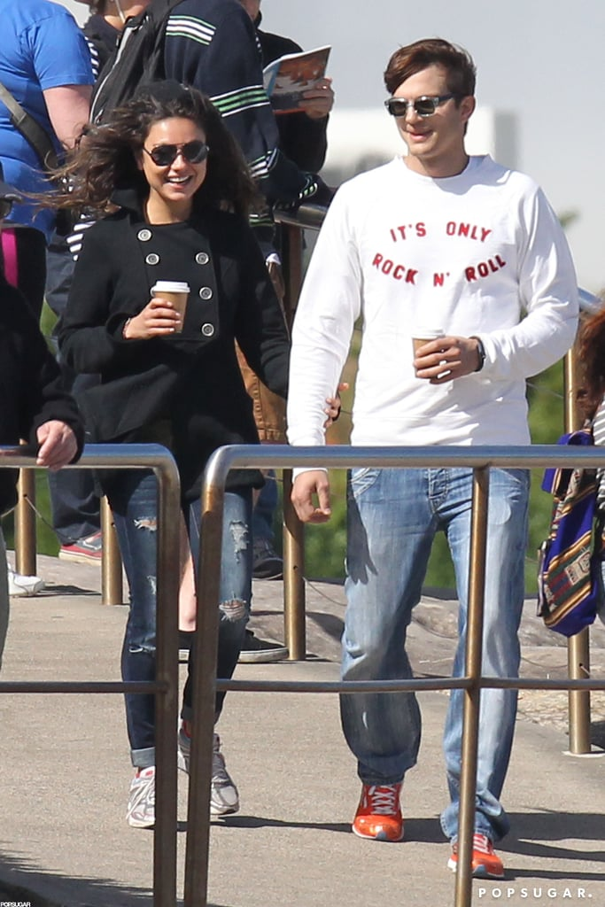 They walked hand in hand while in Australia for a romantic November 2012 vacation.