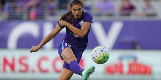 Why Soccer Star Alex Morgan Is Proud To Play #LikeAGirl