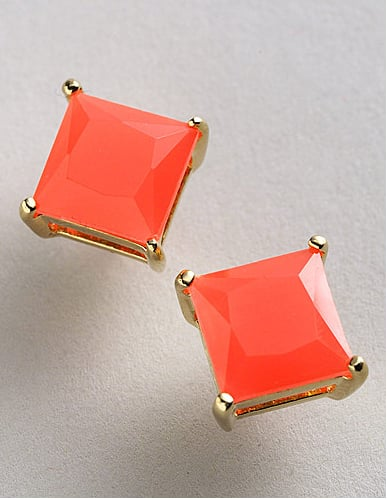 A stud with classic appeal and punchy color!  Kate Spade Small Nothings Studs ($38)