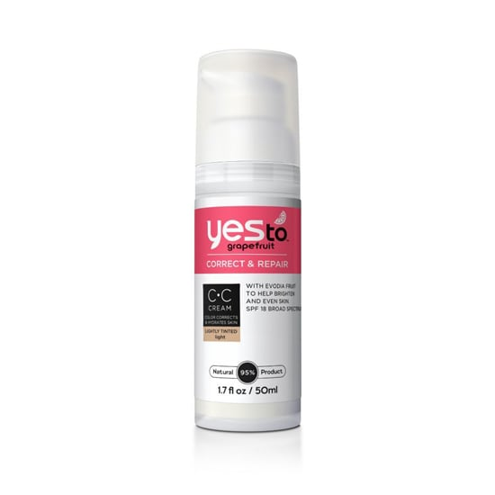 For its first cosmetics product, Yes To has embarked on a part-skin-care, part-foundation mashup. It provides coverage while improving your skin tone. You can pick up your Yes To Grapefruit CC Cream($16) at any drugstore.