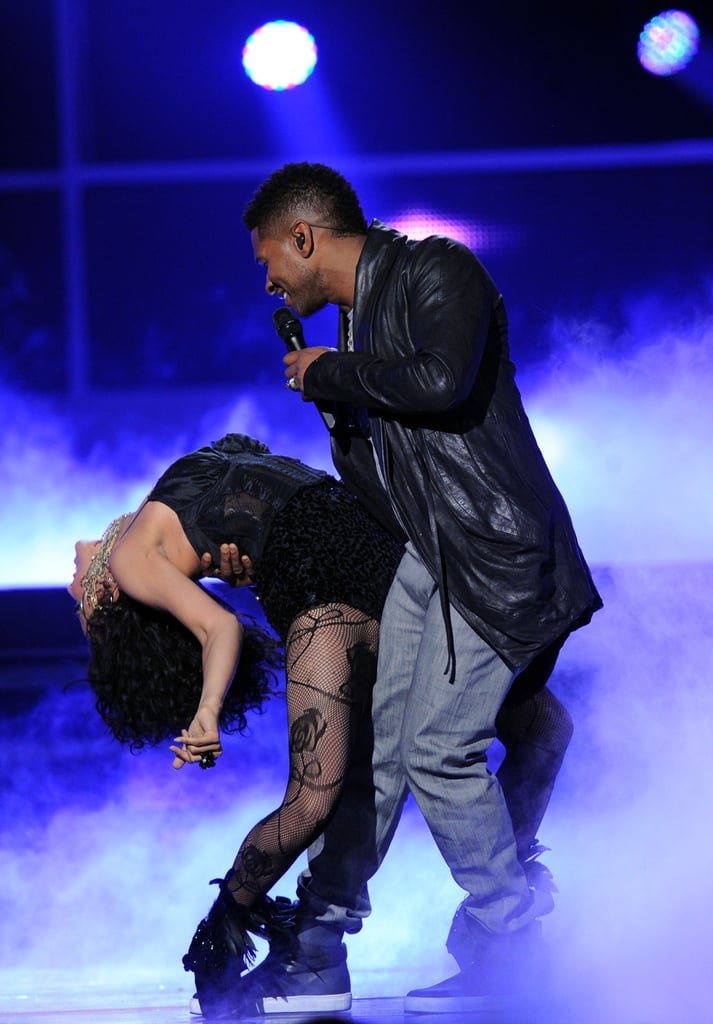He gave a sexy performance with a female dancer onstage at the Latin Grammy Awards in November 2011.
