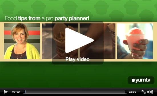 Rachel Hollis's Party Menu Ideas