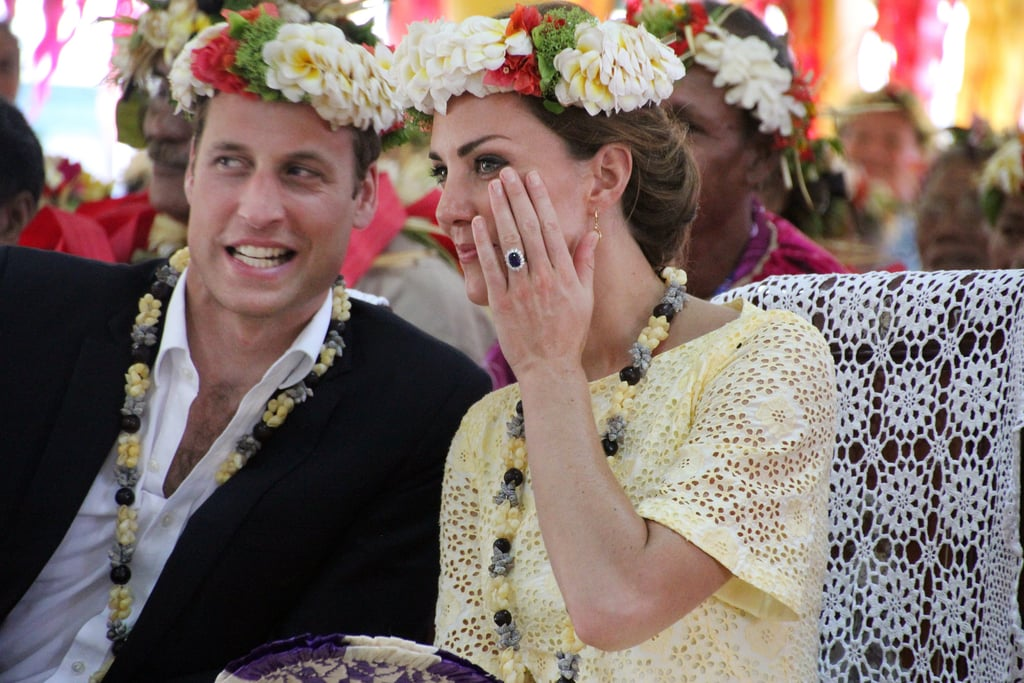 Will and Kate shared a secret during their 2012 visit to Tuvalu.