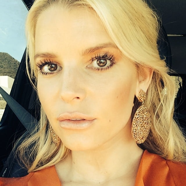Jessica snapped a stunning selfie. Source: Instagram user jessicasimpson