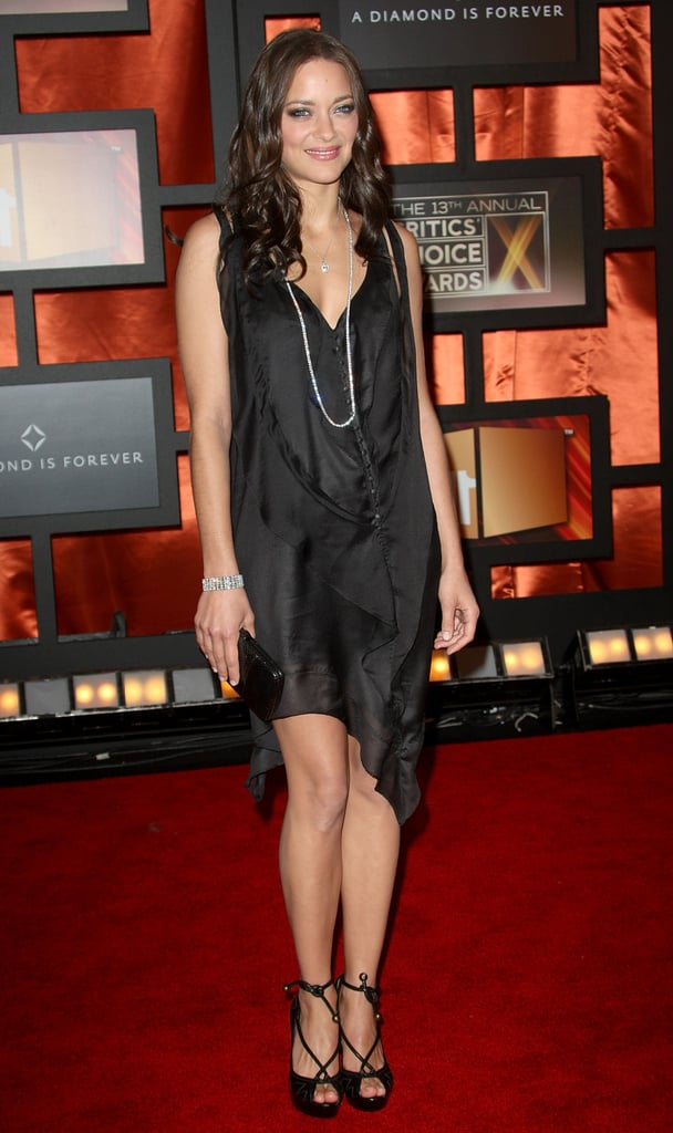 Marion Cotillard looked lovely on the red carpet in 2008.