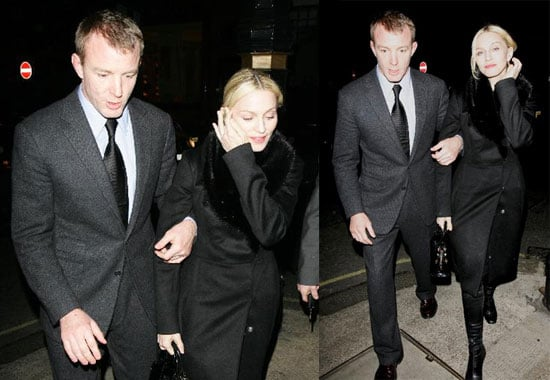 Madonna and Guy Prove They've Got Nothing to Prove