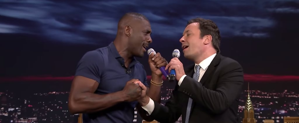 Idris Elba Shows Off His Sexy Singing Voice During a Hilarious Game of Box of Microphones